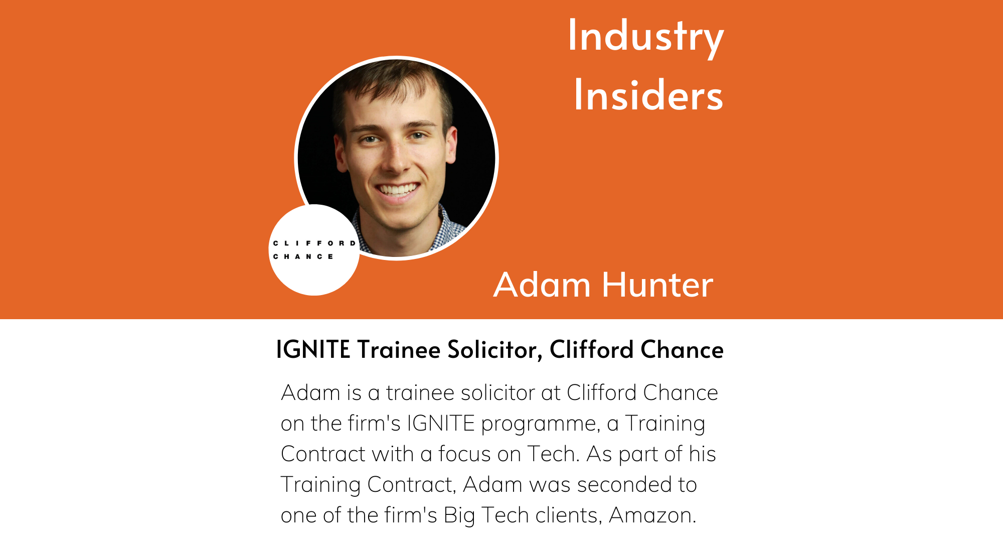 Industry Insiders - IGNITE Clifford Chance